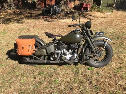 1942 Harley Davidson U Military for sale