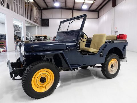 "1946 Jeep Willys CJ2A | Beautiful | ""Go Devil"" engine for sale"