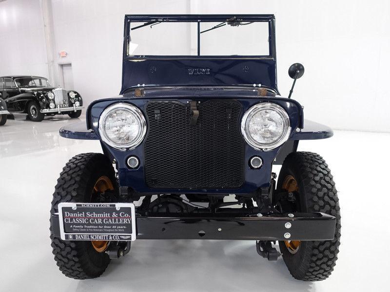 "1946 Jeep Willys CJ2A | Beautiful | ""Go Devil"" engine"