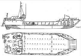 1954 Landing Craft 180 Ton Deck Capacity powerboats