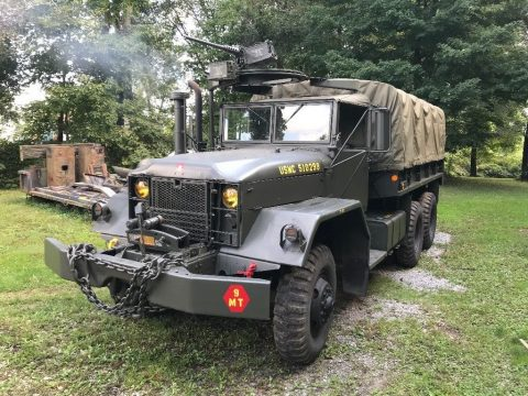 1965 Kaiser Jeep Corp. M54A2 6×6 cargo truck for sale