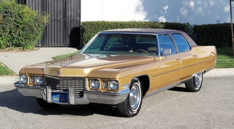 1972 Cadillac Fleetwood 60 Special Brougham for sale