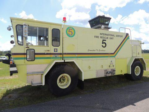 1983 Oshkosh T 6 rescue Vehicle 4×4 Detroit Diesel for sale