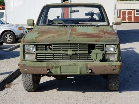 1986 Chevrolet M1008 Military Vehicle for sale