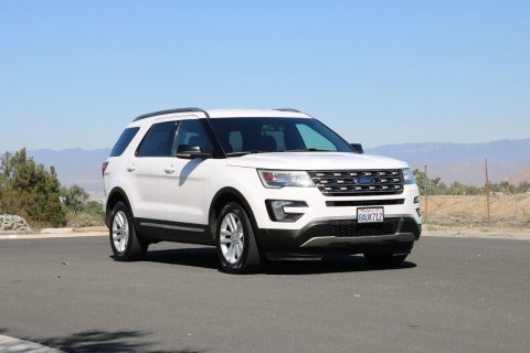 2016 Ford Explorer XLT Ecoboost 3RD ROW Clean Title NO RESERVE for sale