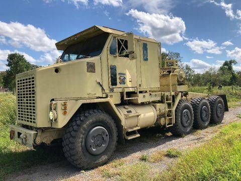 Oshkosh truck military for sale