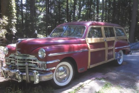 1949 Chrysler Royal woodie for sale