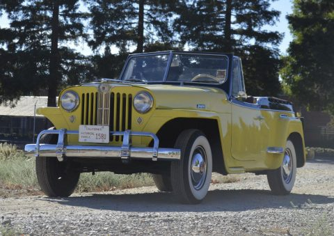 1949 Willys 439 VJ JEEPSTER for sale