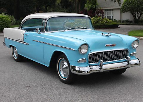 1955 Chevrolet Bel Air/150/210 Hardtop Coupe   3K MILES for sale