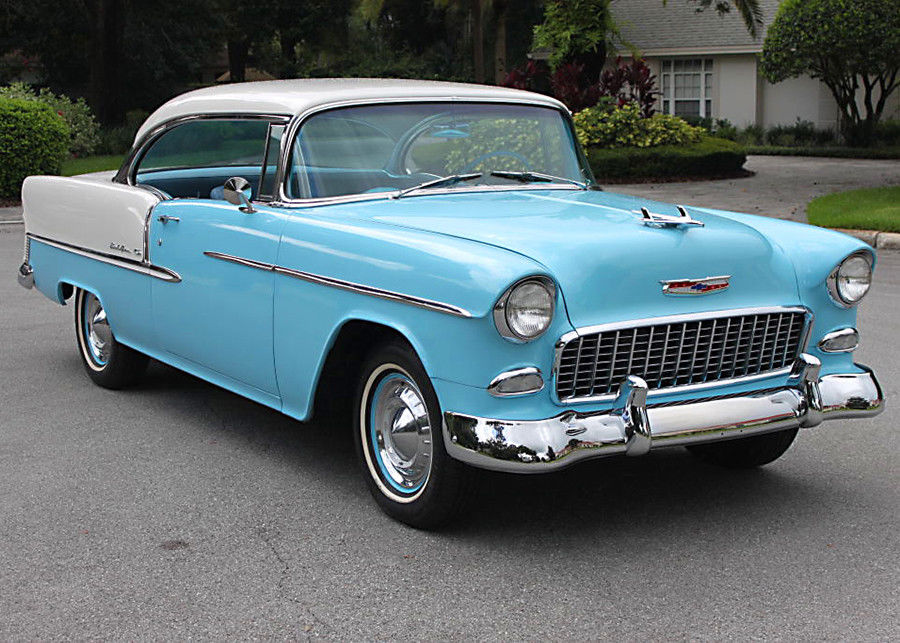 1955 Chevrolet Bel Air/150/210 Hardtop Coupe   3K MILES