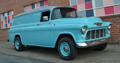 1955 Chevrolet Pickups Panel Truck 6.6L V8 PS PB A/C for sale