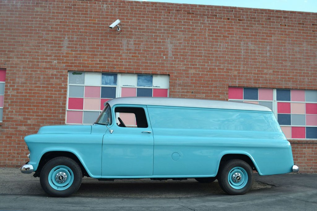1955 Chevrolet Pickups Panel Truck 6.6L V8 PS PB A/C