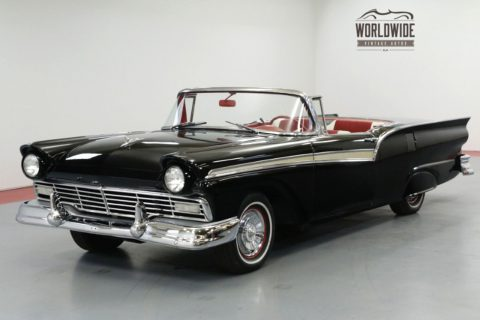 1957 Ford Fairlane RARE Convertible HARD TOP. 312 V8! AUTOMATIC for sale