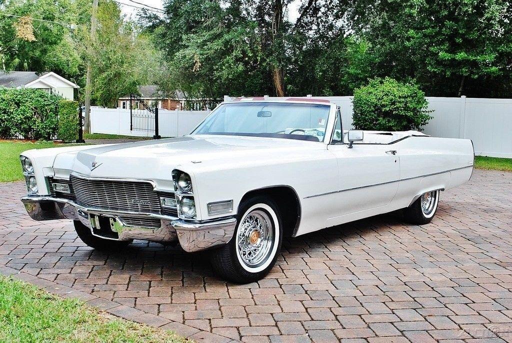 1968 Cadillac Deville Convertible