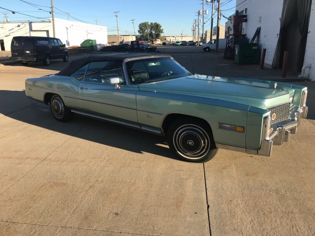 1976 Cadillac Eldorado BASE
