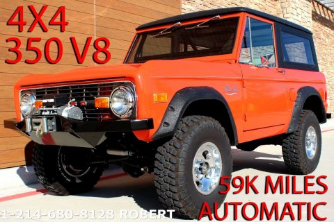 1977 Ford Bronco 4X4 V8 Automatic Complete Restoration 59K MILES for sale