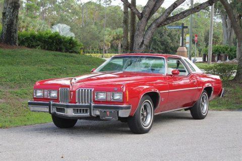 1977 Pontiac Grand Prix 63,000 Actual Miles Rare White Interior for sale
