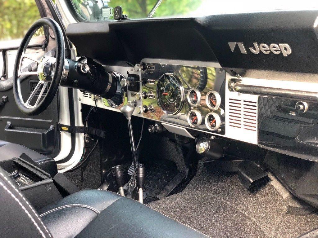 1984 Jeep Cj Scrambler Cj8 For Sale Wiring Harness