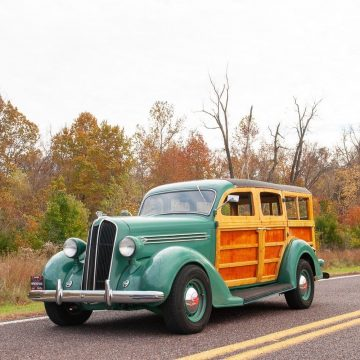 1936 Plymouth Suburban Woody Restomod for sale