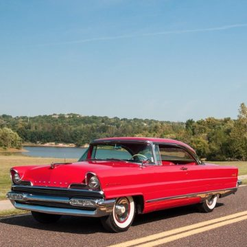 1956 Lincoln Premiere Coupe, 368, All Power for sale