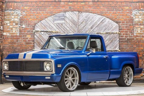 1971 Chevrolet C 10 Custom Stepside LT1 Hurst Manual for sale