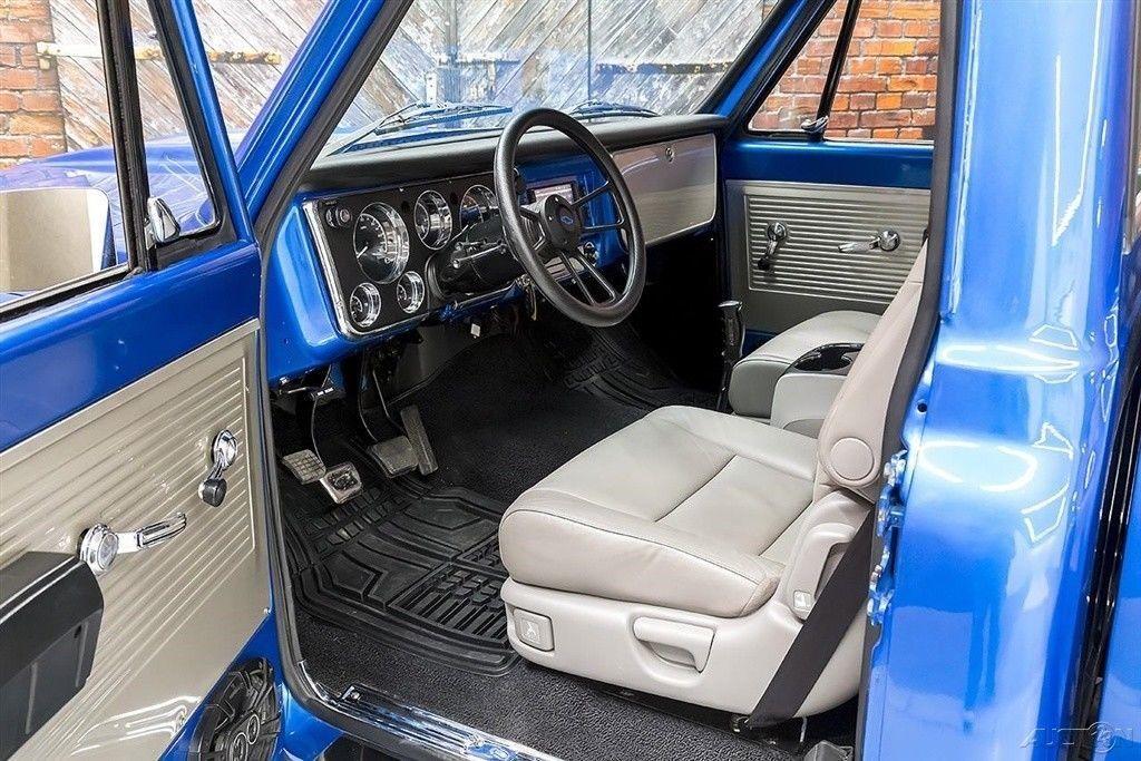 1971 Chevrolet C 10 Custom Stepside LT1 Hurst Manual