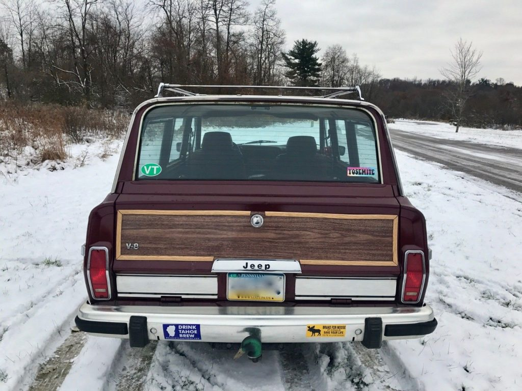 1987 Jeep Grand Wagoneer 5.9L 360 V8 Engine