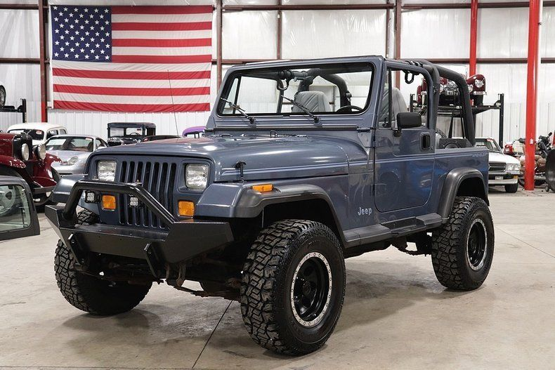 1992 Jeep Wrangler 32097 Miles Steel Blue Jeep 4.0L I6 Automatic