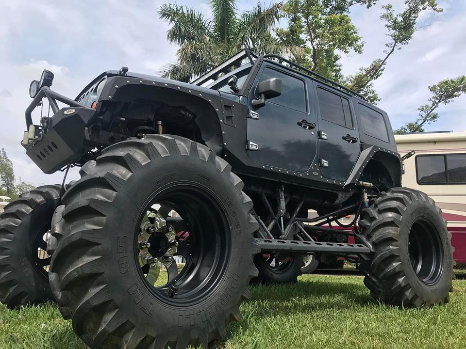2007 Jeep Wrangler  Monster