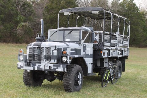 Military Vehicle 1993 M35a3 Urban Camo Tour/Party for sale