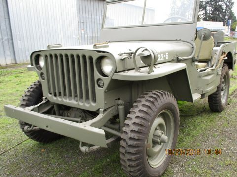 1942 Jeep MB3 for sale