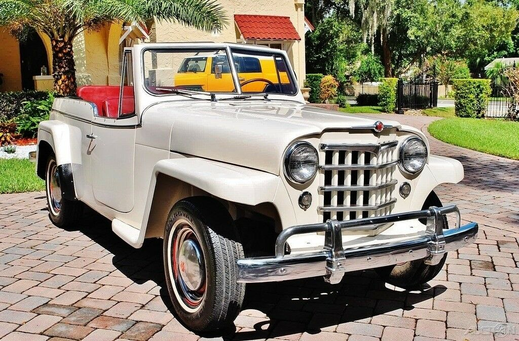 1950 Jeep Willys Jeepster For Sale