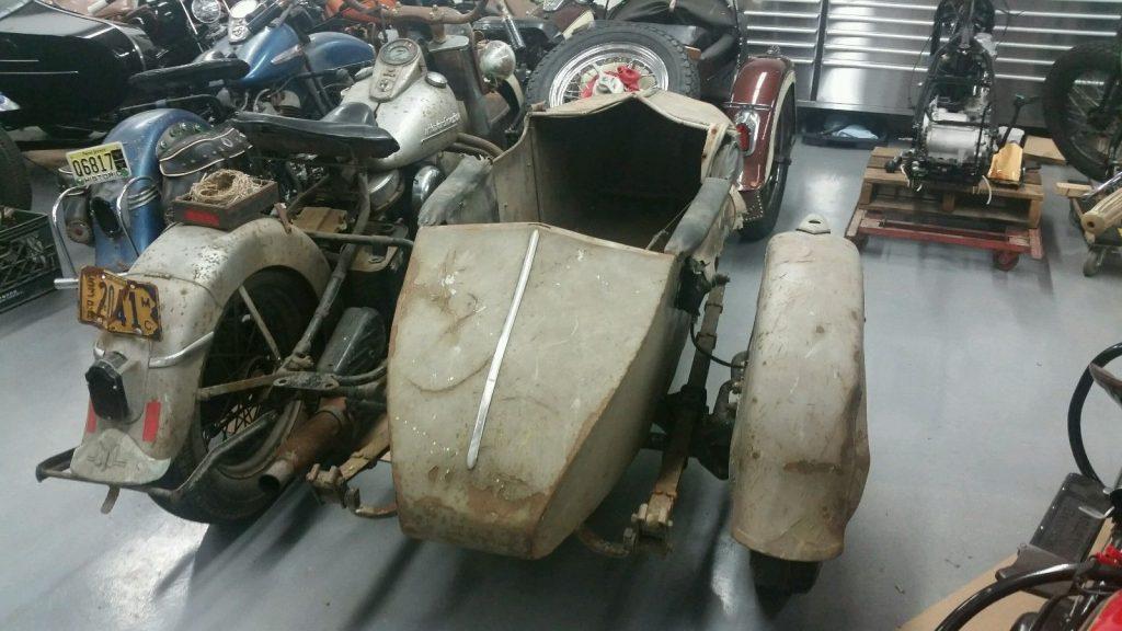 1953 Harley Davidson Police HARLEY