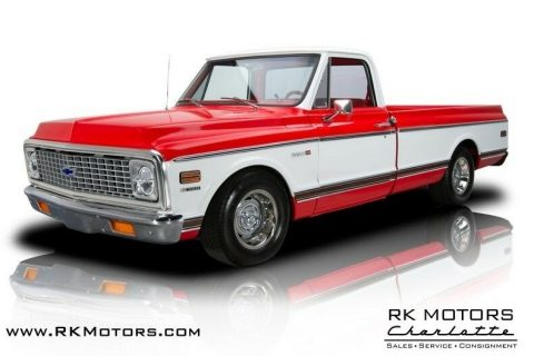 1972 Chevrolet C 10 Cheyenne Super Pickup Truck for sale