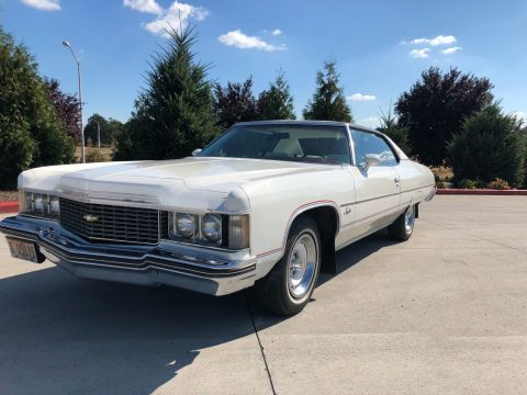 1974 Chevrolet Impala White/red   bicentennial for sale