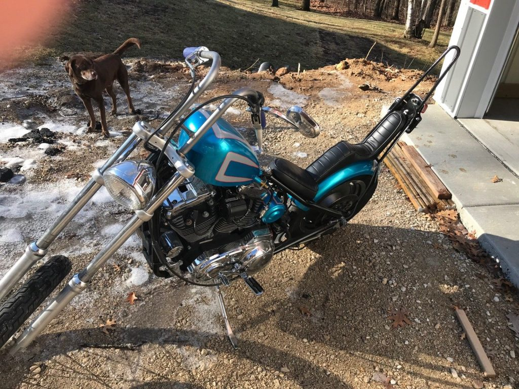 1996 Custom Built Motorcycles Chopper for sale