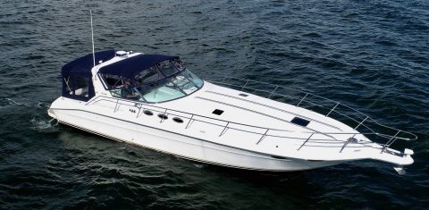 1997 Sea Ray 400 Sundancer Cobalt formula for sale