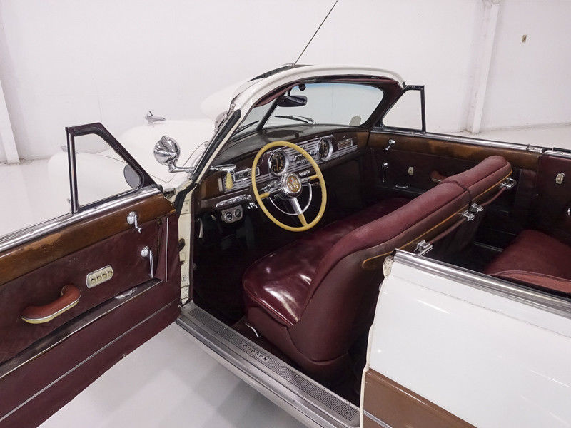 1950 Hudson Commodore Series Six Brougham Convertible Owned by Steve McQueen