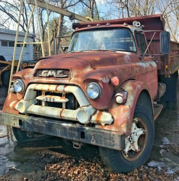 1950's GMC Bull Dog Dump Truck for sale