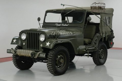 1957 Jeep CJ Restored M38 Tribute CJ. 4×4. for sale