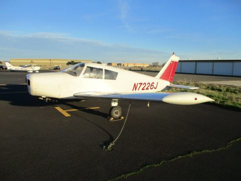1968 Piper Cherokee 140, 4 Place, 5,300tt, 1144 Smoh, Powerflow Exhaust, NOSE FO for sale