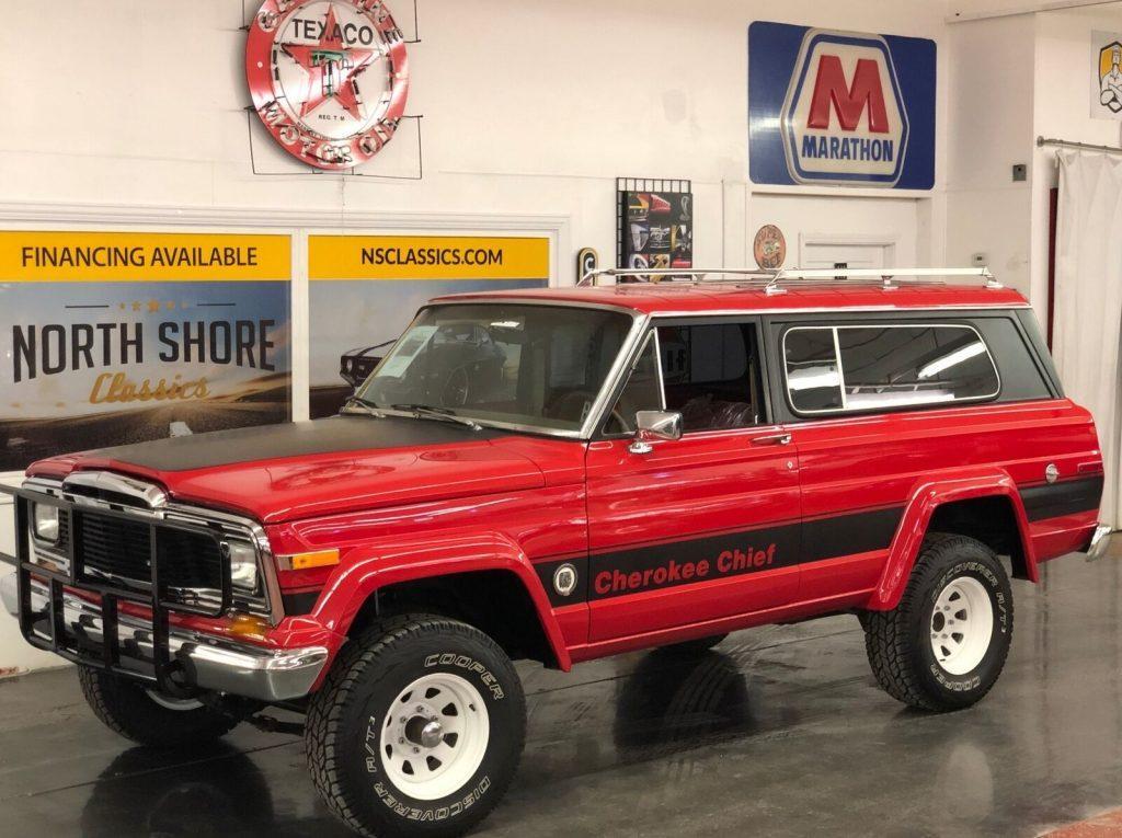 1979 Jeep Cherokee  Chief Wagon 4×4 Arizona Truck Restored