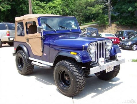 1980 Jeep CJ 4X4 CJ 5 LEVI TRIM PKG 2.5L 4CYL 4 SPD Restored Driver TRAIL for sale