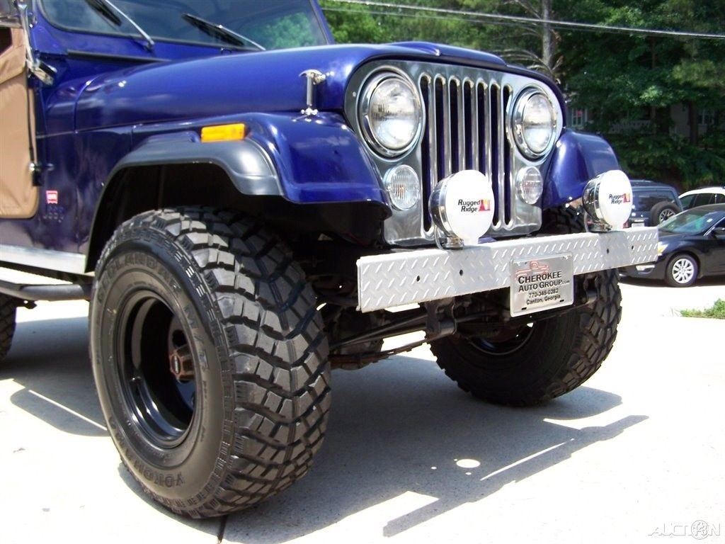 1980 Jeep CJ 4X4 CJ 5 LEVI TRIM PKG 2.5L 4CYL 4 SPD Restored Driver TRAIL