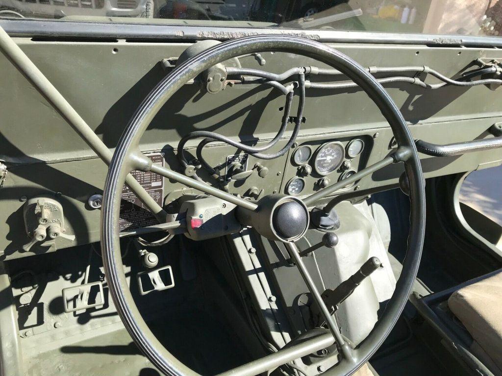 1966 M151a1 Ford Motors MUTT