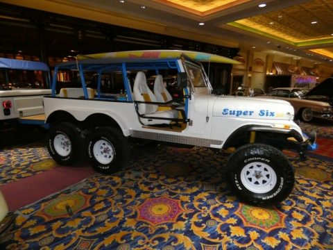 1992 Jeep CJ Super SIX Party Show Jeep for sale