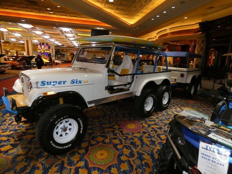 1992 Jeep CJ Super SIX Party Show Jeep