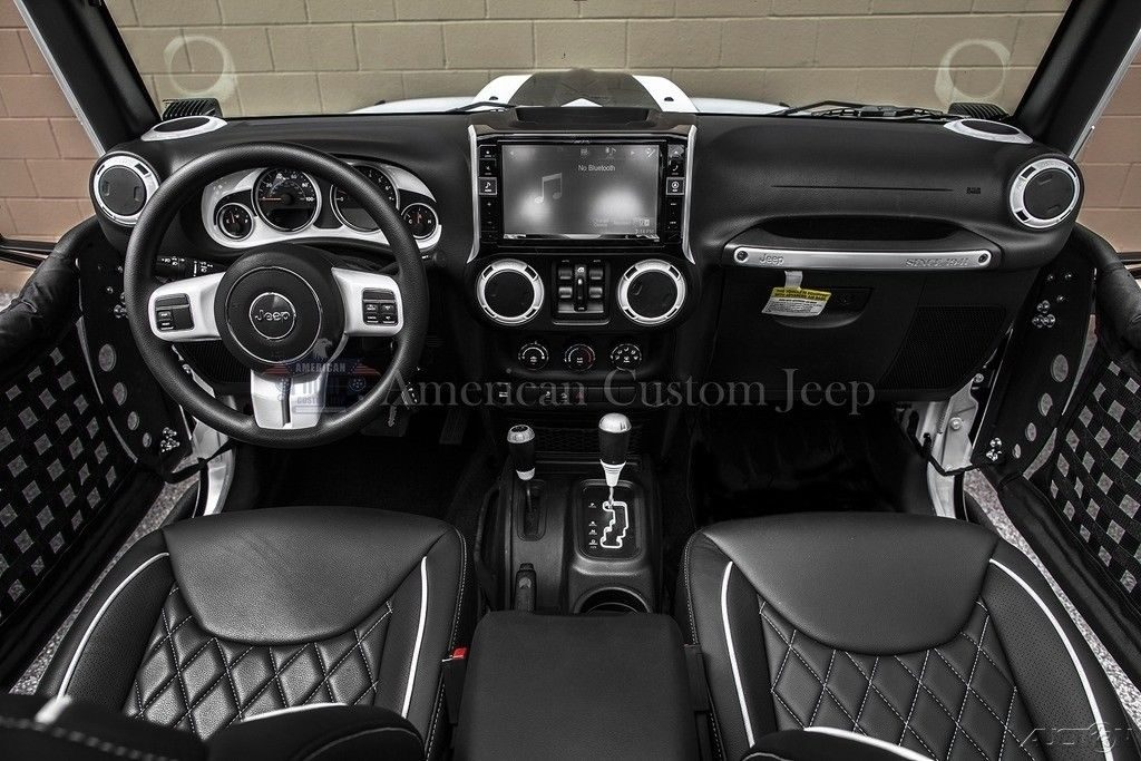 2018 Jeep Wrangler Custom Unlimited Sport Utility 4 Door
