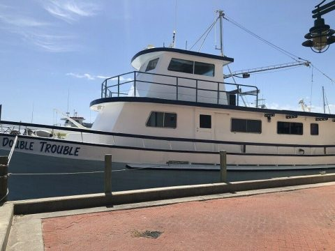 1982 Custom Chandeleur Charter Boat 60 ft for sale