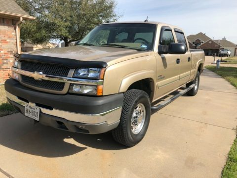 2004 Chevrolet Silverado 2500 6.6L Duramax 4×4! for sale